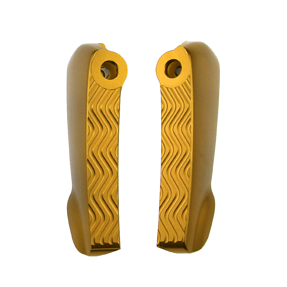Scooter Foot Rests Passenger Foot Pegs Extensions Universal CNC Extended Footpegs For VESPA GT GTS GTV 60 125 200 250 300 300ie