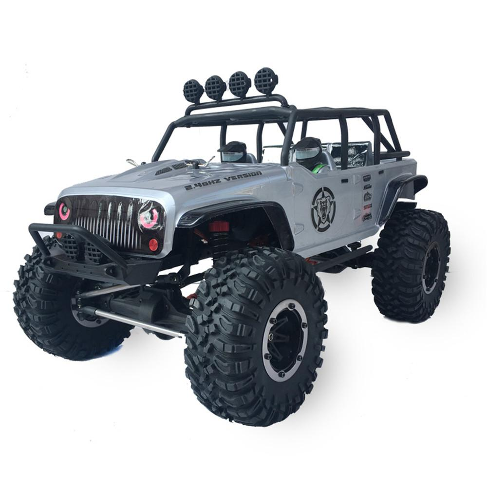 LeadingStar Remo Hobby 1073-SJ 1/10 2.4G 4WD Brushed Rc Car Off-road Rock Crawler Trail Rigs Truck RTR Toy