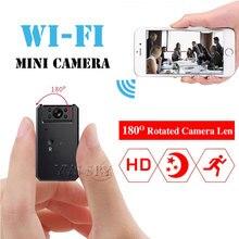 كاميرا واي فاي صغيرة 5 ساعات فيديو HD 720P للرؤية الليلية كشف الحركة كاميرا مسجل الصوت كاميرا صغيرة دعم بطاقة TF مخفية