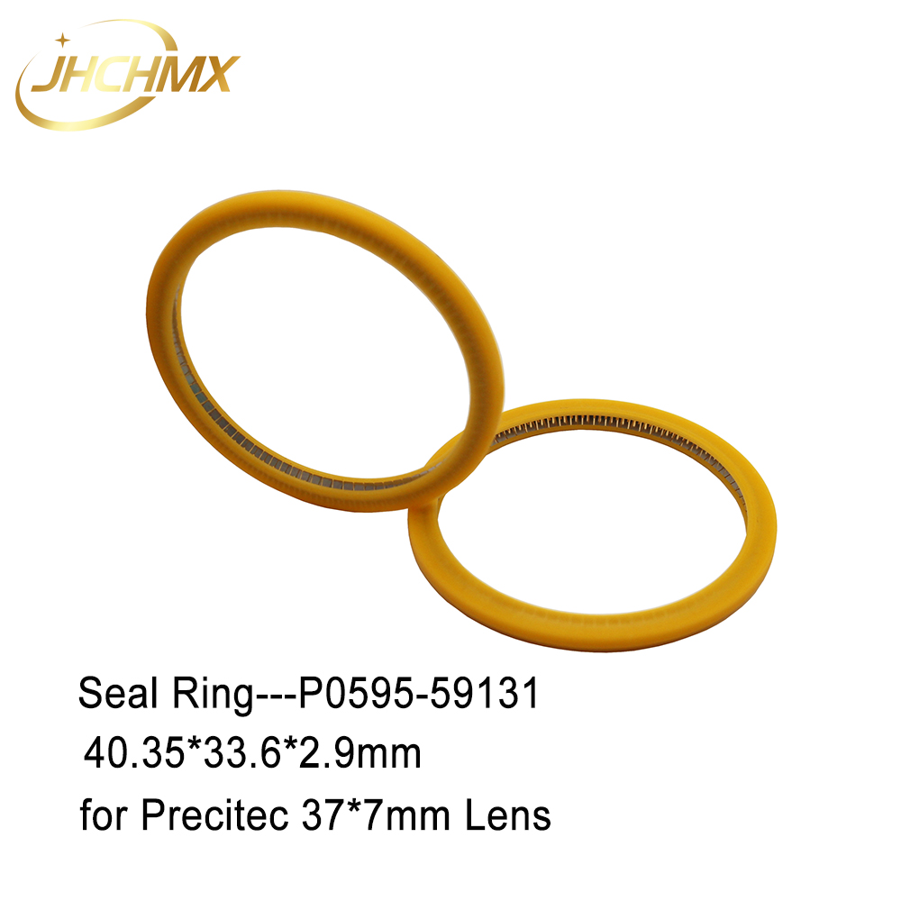 JHCHMX Laser Seal Ring 40.35*33.6*2.9mm P0595-59131 For Precitec Procutter Laser Head Parts Protective Windows 37*7m Used