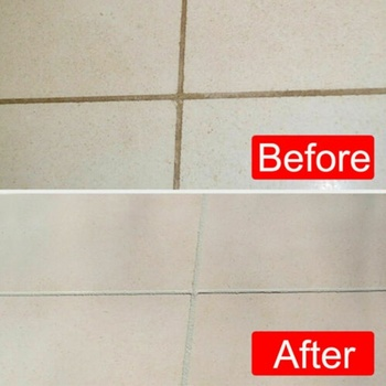 Marker for repairing tiles and cars. Bathroom renovation 2