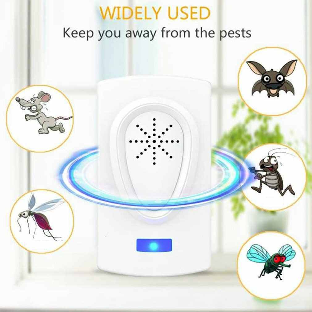 Electronic ultrasonic mosquito repellent plastic Safe and environmentally friendly effectively repel pests 1 pcs