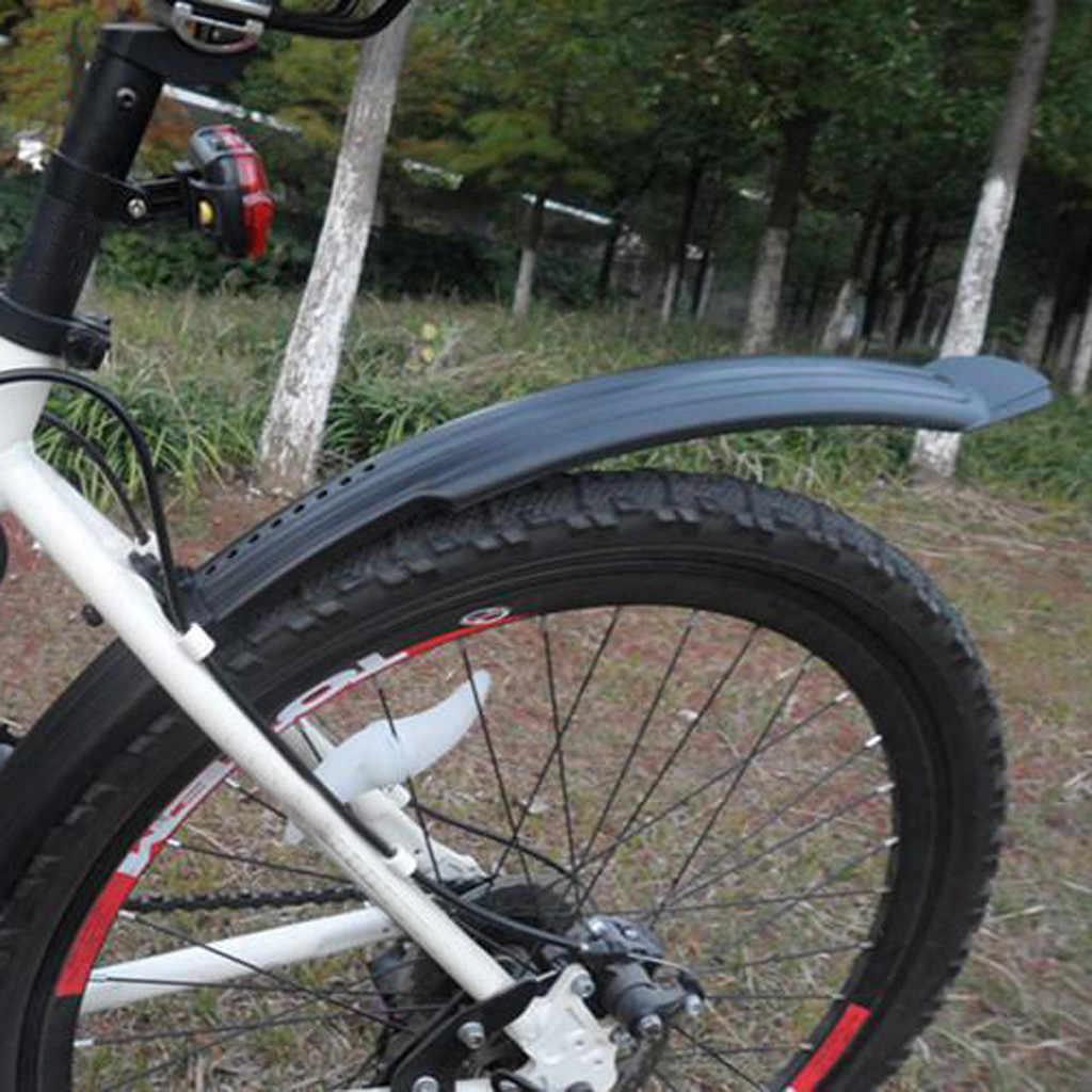"""Mountain Bike Bicicleta para ciclismo Dianteira//Traseira Guarda-lama Fender conjunto cabe 20 22 24 26/"""""""