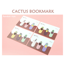 3pcs Cactus Bookmark Combination Magnet Student Creative Mini Book Clip Flip Book Clip Office Stationery Bookmark спот arte lamp a1406ap 1bk