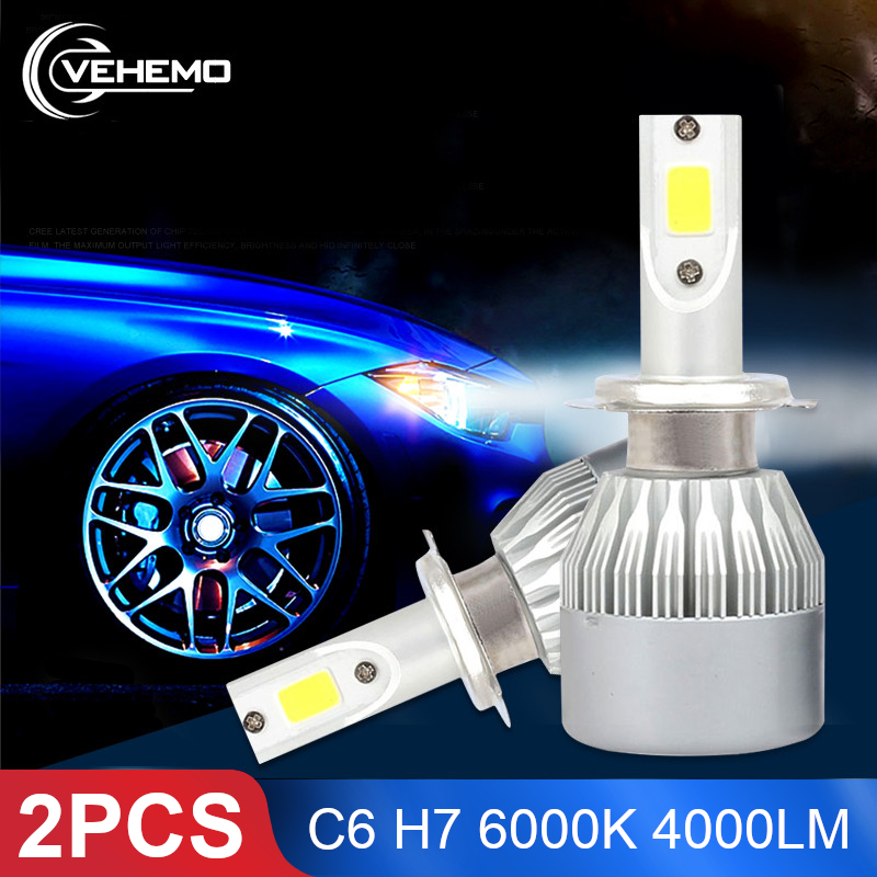 Car LED Headlight Bulbs Lights & Lighting Accessories 1Pc