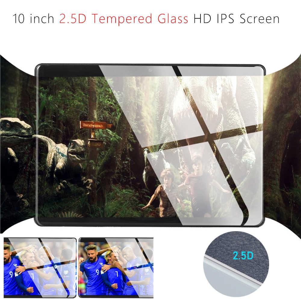 2020 yeni 2.5D temperli cam 10 inç Deca çekirdek 4G FDD LTE Tablet pc 6GB RAM 128GB ROM 1920*1200 Android 9.0 Tablet 10.1 + hediyeler
