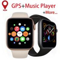 Smartwatch com gps  relógio inteligente que empurra mensagem  conectividade bluetooth  mp3 player  para ios  apple  iphone  xiaomi  monitor cardíaco  monitoramento de atividades esportivas