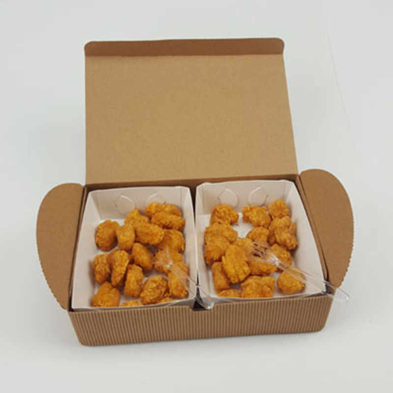 High quality Multi size Fried chicken takeaway box grease//leak proof