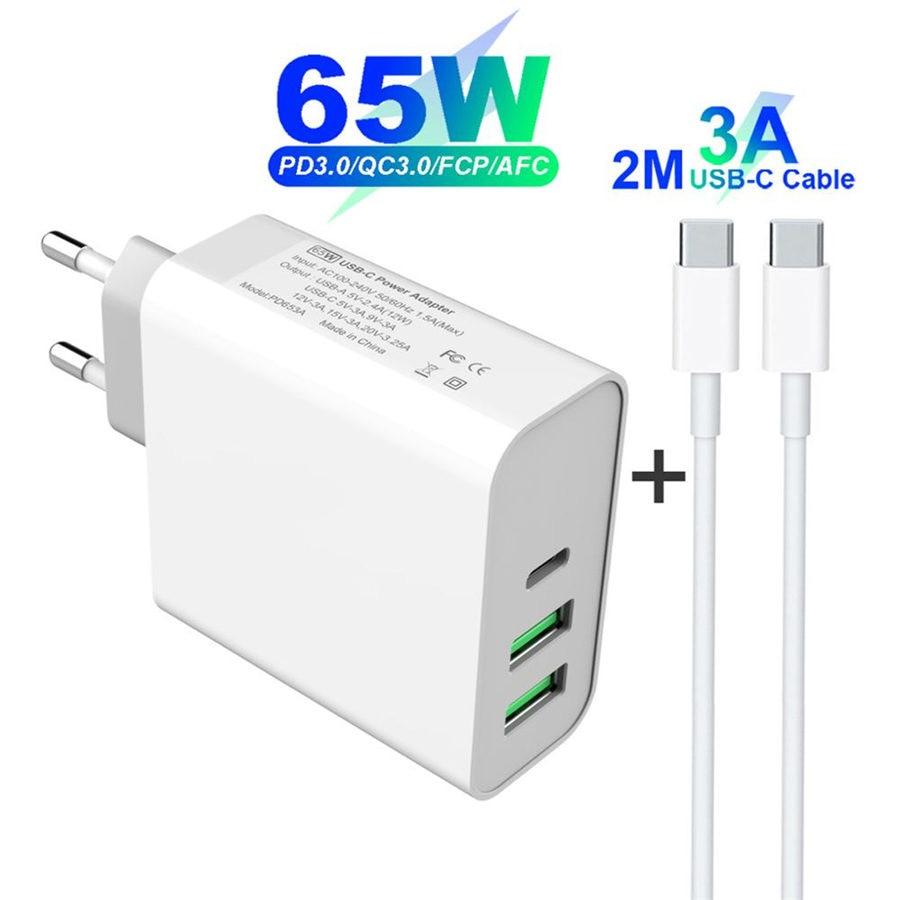 65W-TYPE-C-USB-C-adaptador-de-corriente-USB-PD65W-60-W-45-W-QC3-0