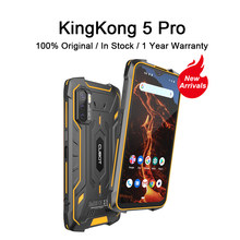 Ip68/ip69k global 4g lte 8000mah android 11 alto-falante duplo telefone móvel nfc cubot kingkong 5 pro smartphone áspero à prova dip68 água