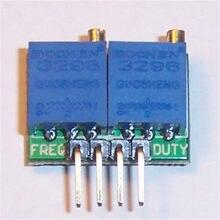 Kwx02 ciclo quadrado 0.1hz ajustável do dever da frequência da fonte do sinal da onda-34khz