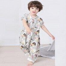 Детский хлопковый спальный мешок муслин, спальный мешок для малышей, детские постельные принадлежности для малышей, Детские спальные мешки Saco De Dormir Para Bebe