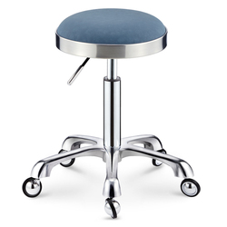 Beauty stool, barber's chair, rotary lifting, hairdresser's bench, pulley, stainless steel hair cutting stool