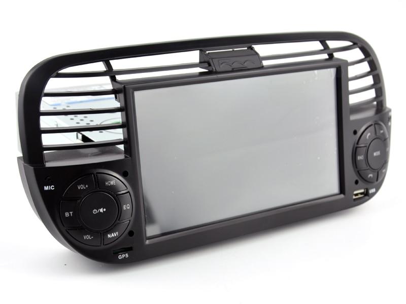 OTOJETA Car Dvd Media-Player Radio Multimedia Black-Panel Bluetooth Android 9.1 Fiat 500