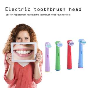 Heads Brush Electric Oral-Children 4pcs Replacement-Head Kids High-Precision