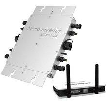 Drahtlose PV Auf Netz-wechselrichter 1200 W, Solar Inverter Micro Inverter mit MPPT funktion, reine Sinus Welle Ausgang