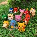 34 стиля маленькие строительные блоки Покемон маленькая мультяшная модель животного Пикачу Развивающая игра графические блоки Покемоны иг...