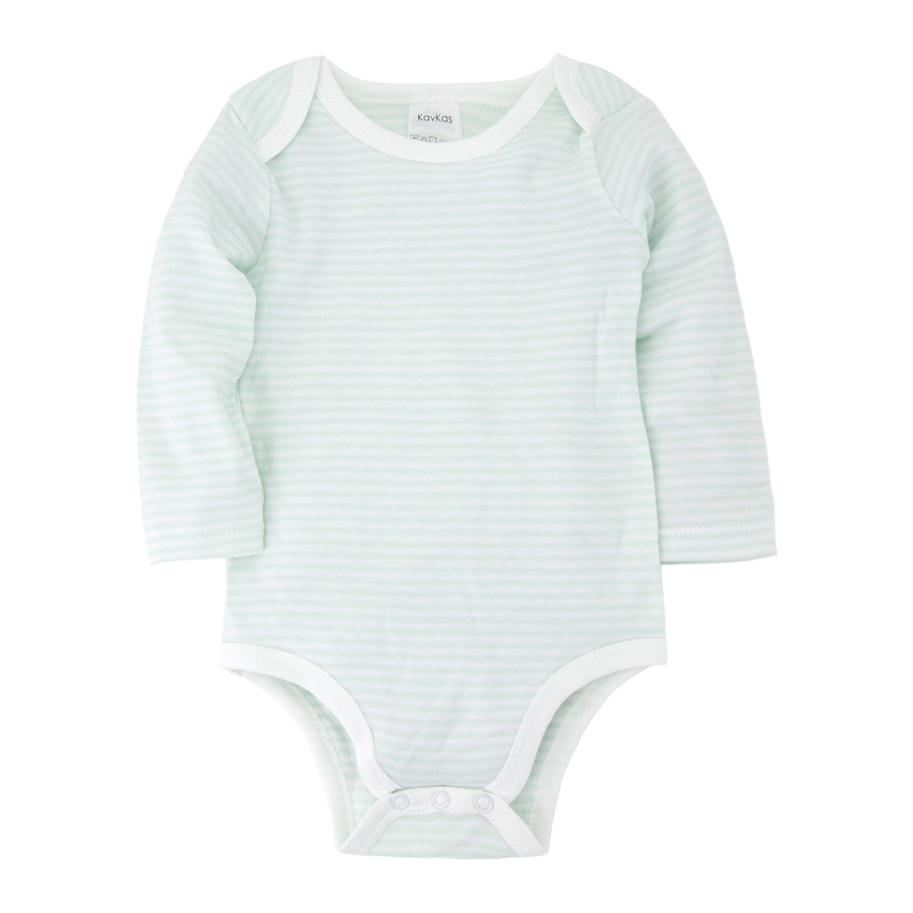 Newborn baby boy Body suit 2020 new Baby Babies costume Long Sleeve Light color Cotton striped Infant & toddler Clothing rompers