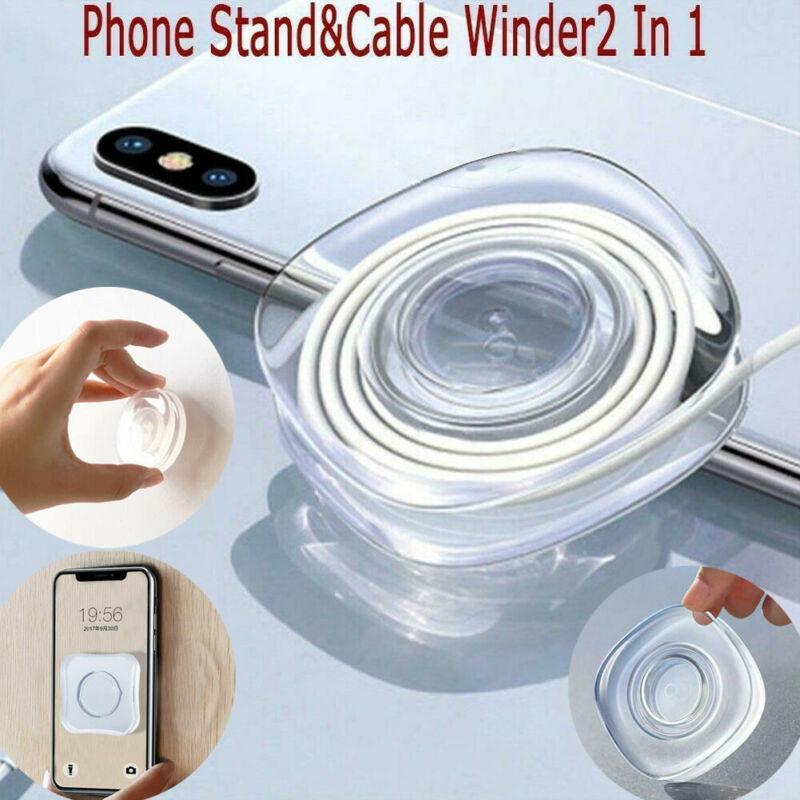 US Reusable Nano Casual Paste PU Material Nano Magic Sticker Phone Holder Mount