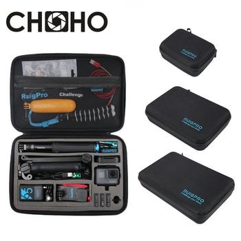 Portable Bag Carry Case Box Storage Protective S M L Handbag For GoPro Hero 8 7 6 9 Xiaomi YI Sjcam DJI OSMO Camera Accessories