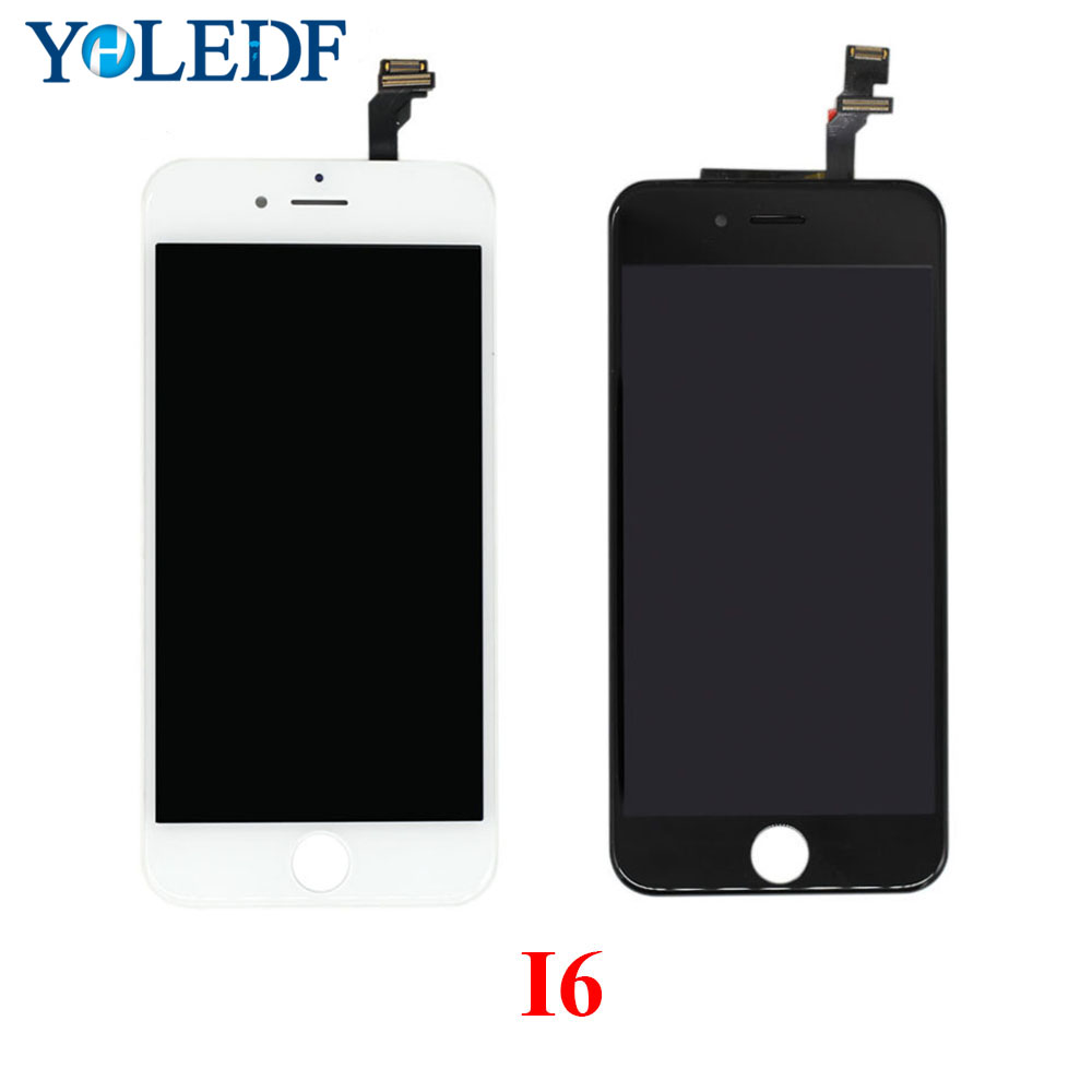 4.7 LCD For iPhone 6 Display Touch Screen Digitizer Assembly Panel Tela Ekran Replacement No Dead Pixels Display+hand tools set image