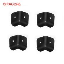 цена на 8Pcs/Lot AMP Angle Amplifier Speaker Cabinet Corner Sound Box Protector 2 Holes