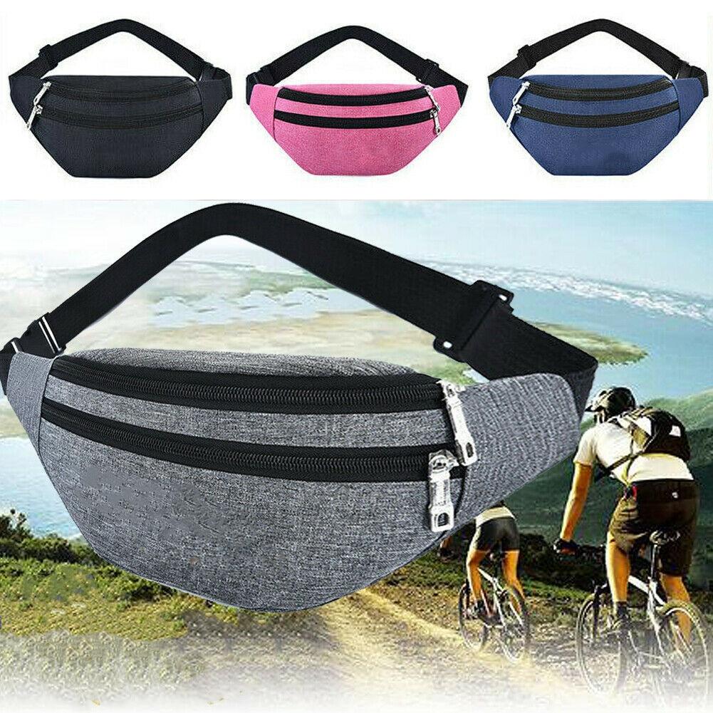 Men Women Sport Running Bags Outdoor WaterProof Phone Pocket Pouch Belt Waist Bag