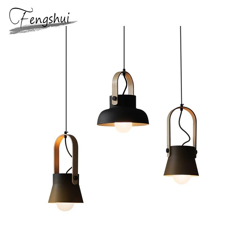 Nordic LED Iron Pendant Lights Lighting Home Indoor Decor Pendant Lamp Dining Living Room Bedroom Kitchen Fixtures Hanging Lamp