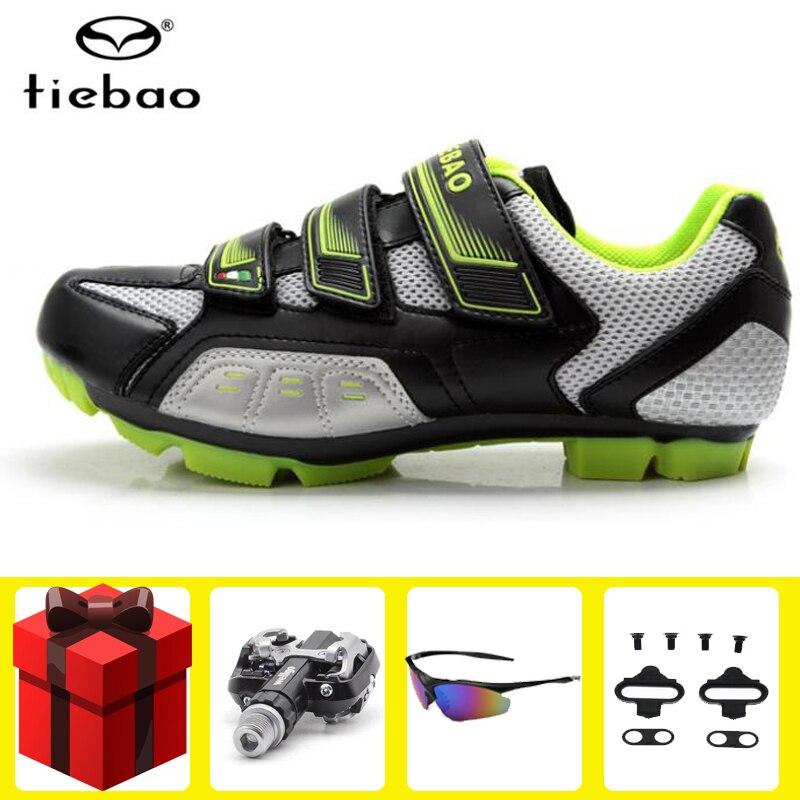 Safe Lock Bike MTB Road Bicyle Cycling Shoes Self-locking Pedal Cleats Set