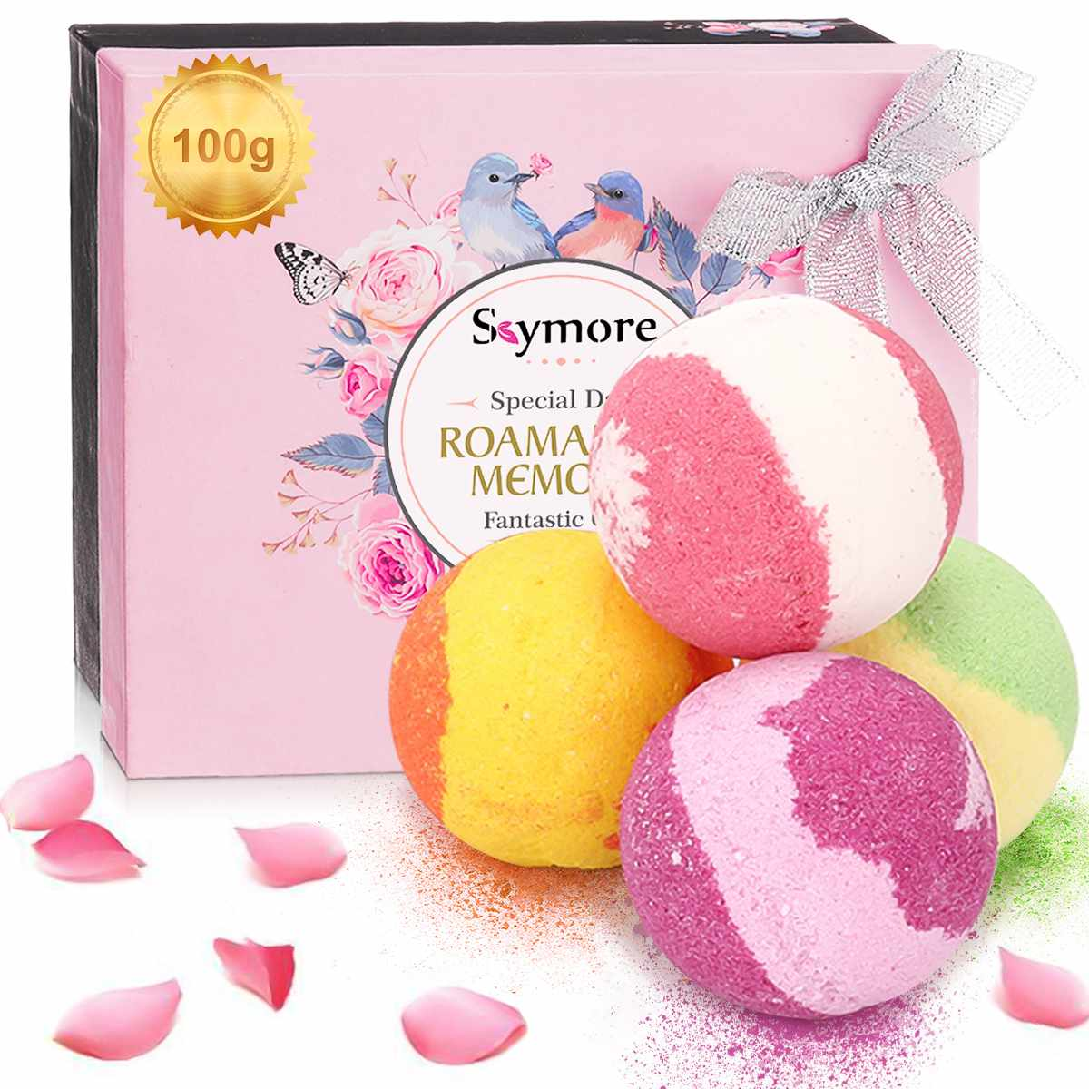 4PCS Round Bath Bomb Molds DIY Tool Bath Salt Ball Aromatherapy Type Body Cleaner Homemade Crafting Gifts Home Hotel Bathroom