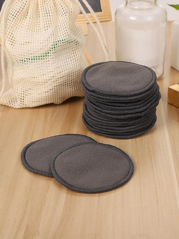 12PCS Makeup Removal Cotton Pad Reusable Bamboo Fiber Washable Rounds Pads For Face Eye Fashionable Innovation Quick Delivery in Makeup Remover from Beauty Health