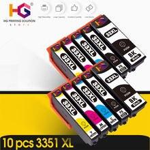 10 шт 33xl чернильный картридж для epson xp 530 / 630 830 635