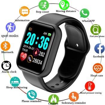 Smart Watch Men Women Smartwatch Heart Rate Blood Pressure Monitor Fitness Tracker Smart Sport Bracelet for Android IOS недорого