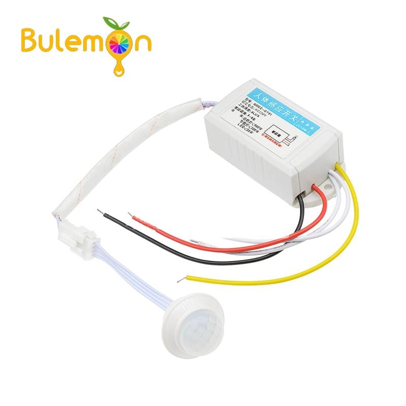 IR Infrared Body Motion Sensor Automatic Light Lamp Control Switch 110V 220V