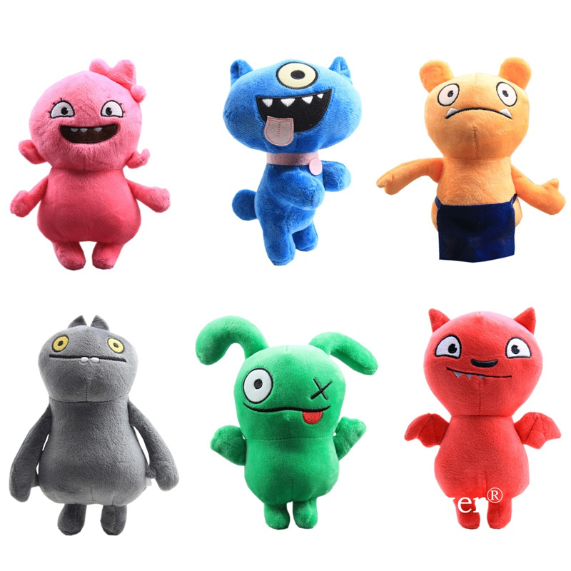 18cm Uglydoll Plush Doll Toys Uglydoll Cartoon Anime Ox Moxy Babo Plush Toy Soft Stuffed Animals Toys Children Birthday Gift