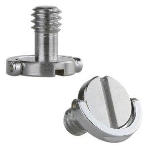 "Image 3 - Perno de tornillo de anillo en C de 1/4 ""cautivo de acero inoxidable para trípode de cámara Placa de liberación rápida"