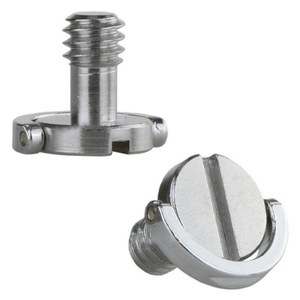 """Image 3 - Stainless Steel Captive 1/4"""" C ring Screw Bolt for Camera Tripod Quick Release Plate"""