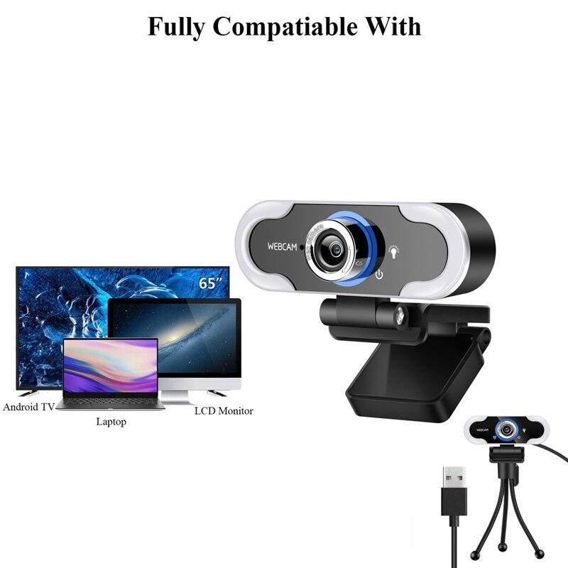 unidade gratuita com microfone conferencia camera ao vivo cmos sensor webcam 02