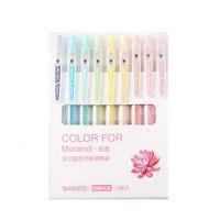 9Pcs Kawaii Japanse Leuke Glitter Gel Pen Set Voor Kleurboeken Tijdschriften Tekening Doodling Marker Pennen Briefpapier Voor School