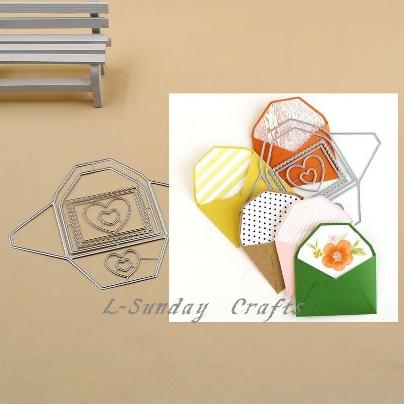 L-Sunday  Crafts Die Cuts Envelope Cutting Dies Stencils Scrapbooking Embosing Card Making Crafts