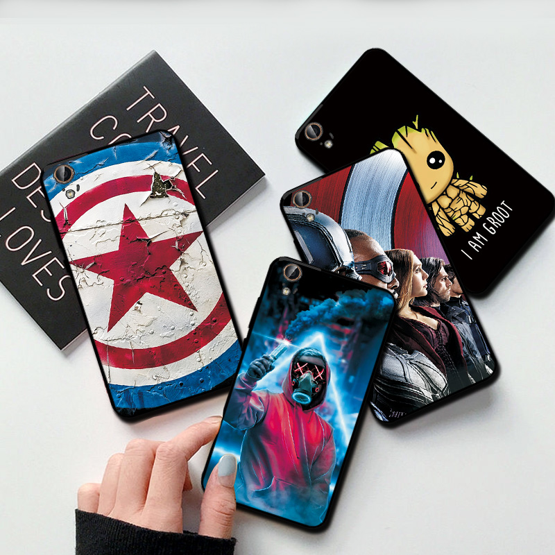 Black TPU Cover For Huawei Y6 ii <font><b>Phone</b></font> <font><b>Case</b></font> Coque For Huawei Y6 II y6 2 <font><b>Marvel</b></font> Avengers Hero Cover For Huawei Y5 II Y5 2 <font><b>Cases</b></font> image
