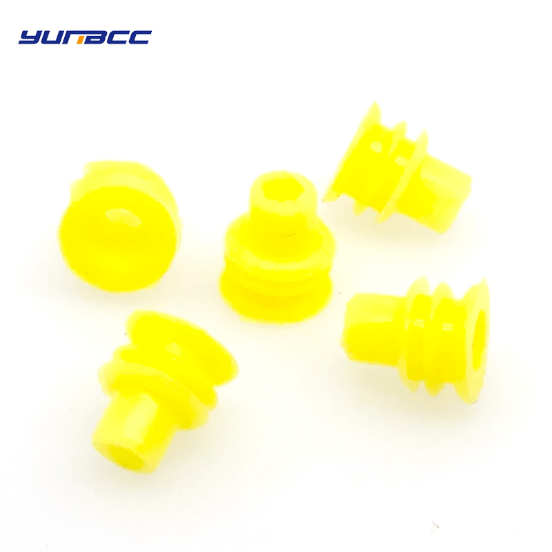 100 Pcs Auto Wire Connector Rubber Seal Super Waterproof Silicone Wire Seals 281934-2 For Tyco 1.5 Series Plug