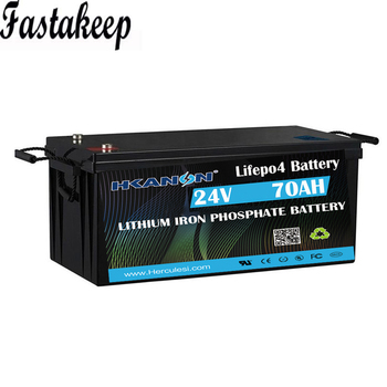 Deep Cycle Lifepo4 24v 70ah Lithium Ion Battery 25.6v 70ah Storage Energy System image