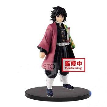 In stock Original Banpresto Demon Slayer Kimetsu no Yaiba Figure Giyu Tomioka Vol. 5 PVC action figure model figurines