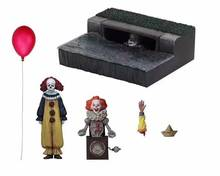 NECA SHF SI Pennywise 1990 Stephen King's Pagliaccio Model Collection Per La Decorazione di Halloween Regalo Action Figure Giocattoli(China)