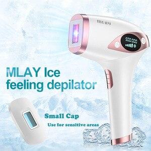 Image 2 - Mlay t4 remoção do cabelo a laser de gelo frio ipl depilador permanente depilador a laser biquíni trimmer elétrica foto rejuvenescimento