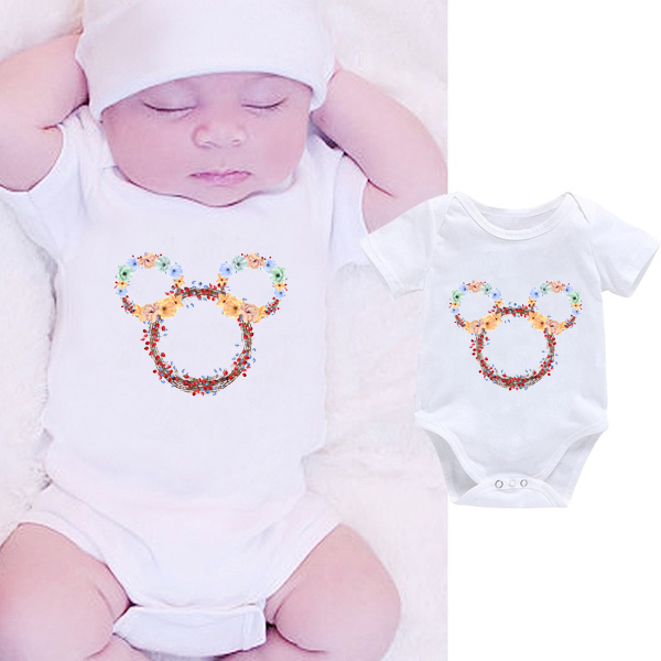 DERMSPE 2019 Newborn Infant Baby Boy Girls Funny Romper Jumpsuit Clothes Outfits Hot Sales Romper Summer Fashion