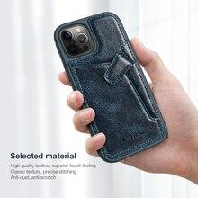 Für iPhone 12 Fall Für iPhone 12 Pro Abdeckung Nillkin Aoge Leder Fall Für iPhone 12 Mini Telefon Fall Mit brieftasche Karte