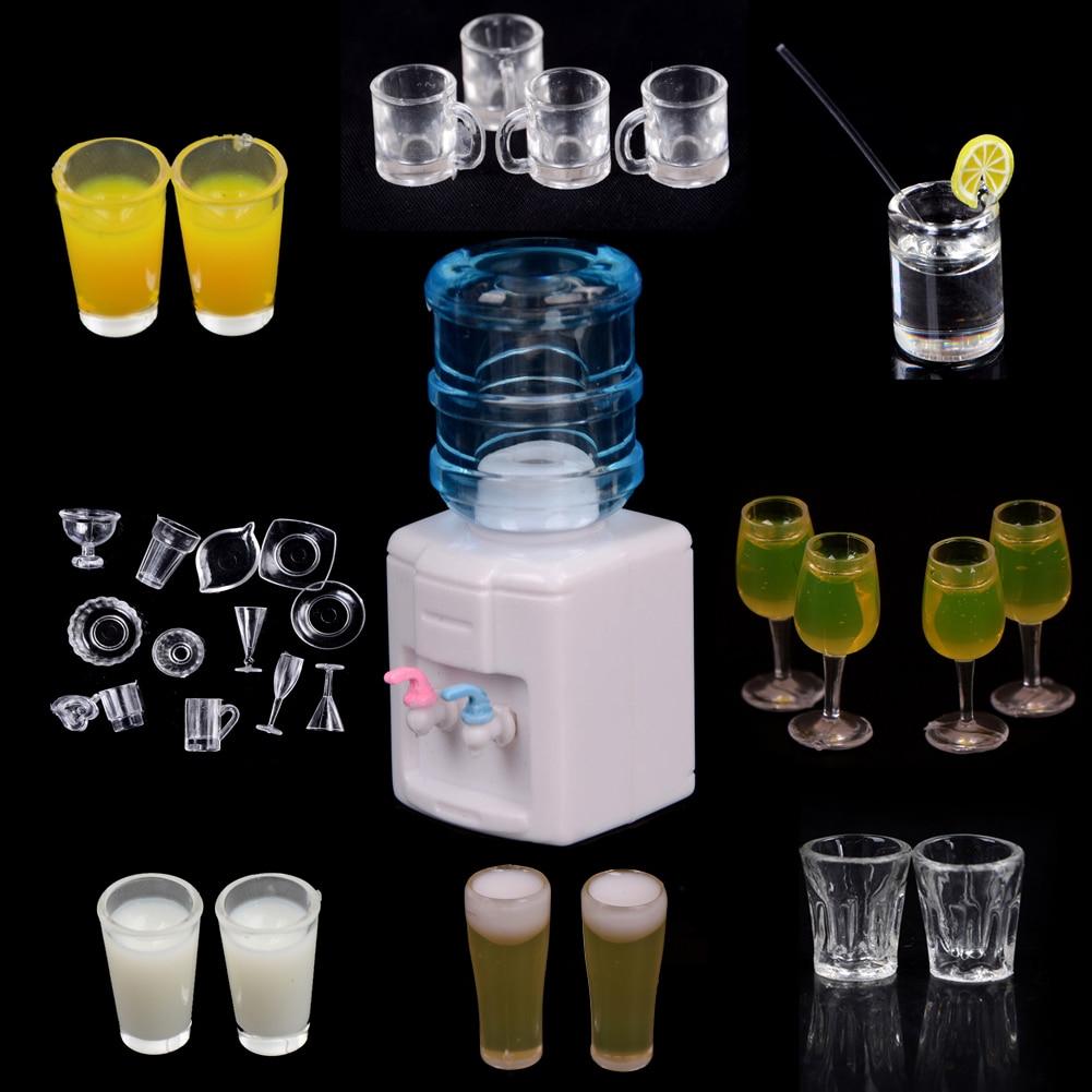 Dollhouse Miniature Dinnerware Drinking Glass Jar Cup Set 1//12 Scale