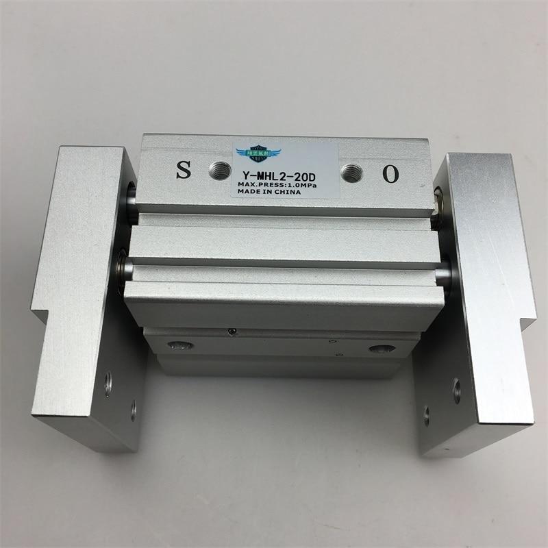 MHL2-32D MHL2-32D1 MHL2-32D2 parallel style air gripper wide type cylinder MHL series